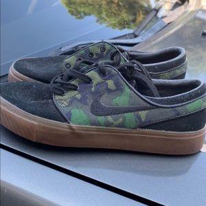 Nike camo Stefan janoski sneakers